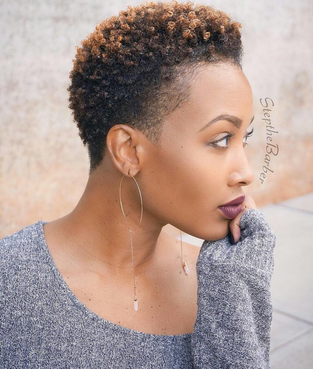 The Best 24 Excitable Hairstyles For Bold Twa All Hairstyles Pictures