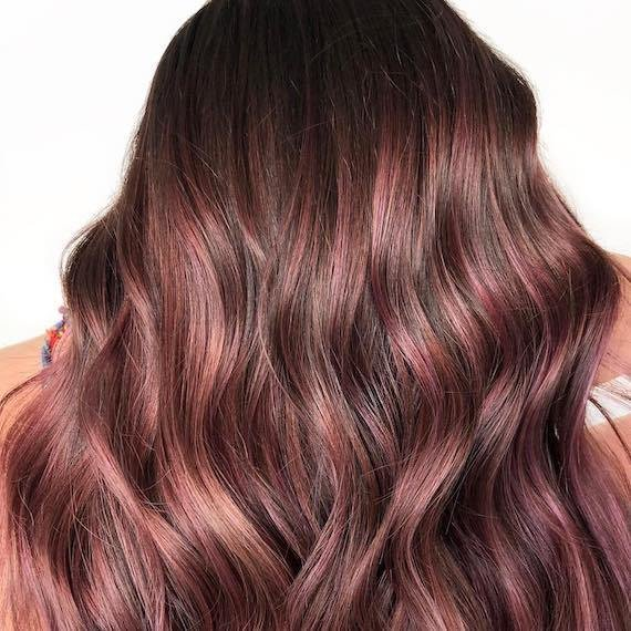 The Best How To Get The Rose Gold Hair Color Trend Wella Pictures