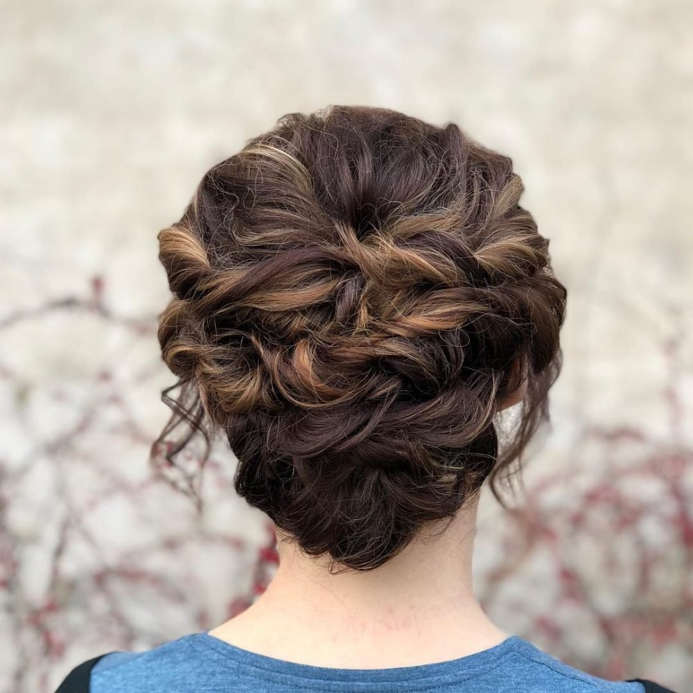 The Best 20 Simple Updos That Are Super Cute Easy 2019 Trends Pictures