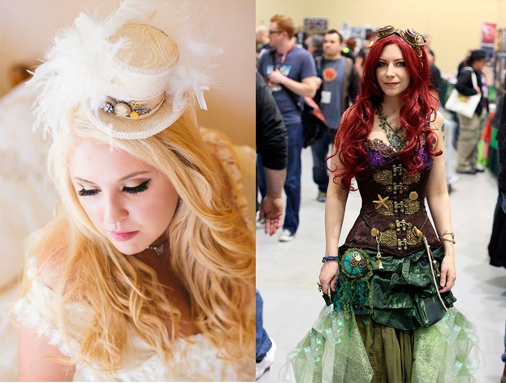 The Best Wedding Hairstyles 2017 Steampunk Hairstyles Pictures