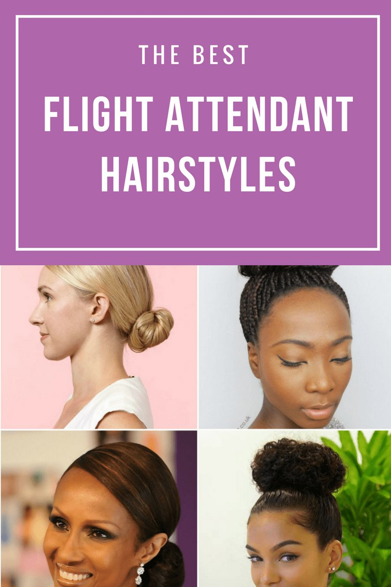 The Best Flight Attendant Styles For All Hair Types Pictures
