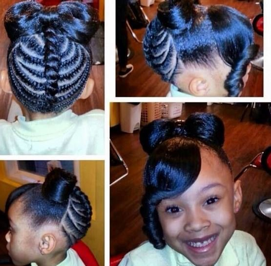 The Best Black Kids Ponytail Hairstyles For Beautiful And Handsome Pictures