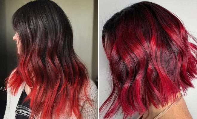 The Best 23 Red And Black Hair Color Ideas For Bold Women Crazyforus Pictures
