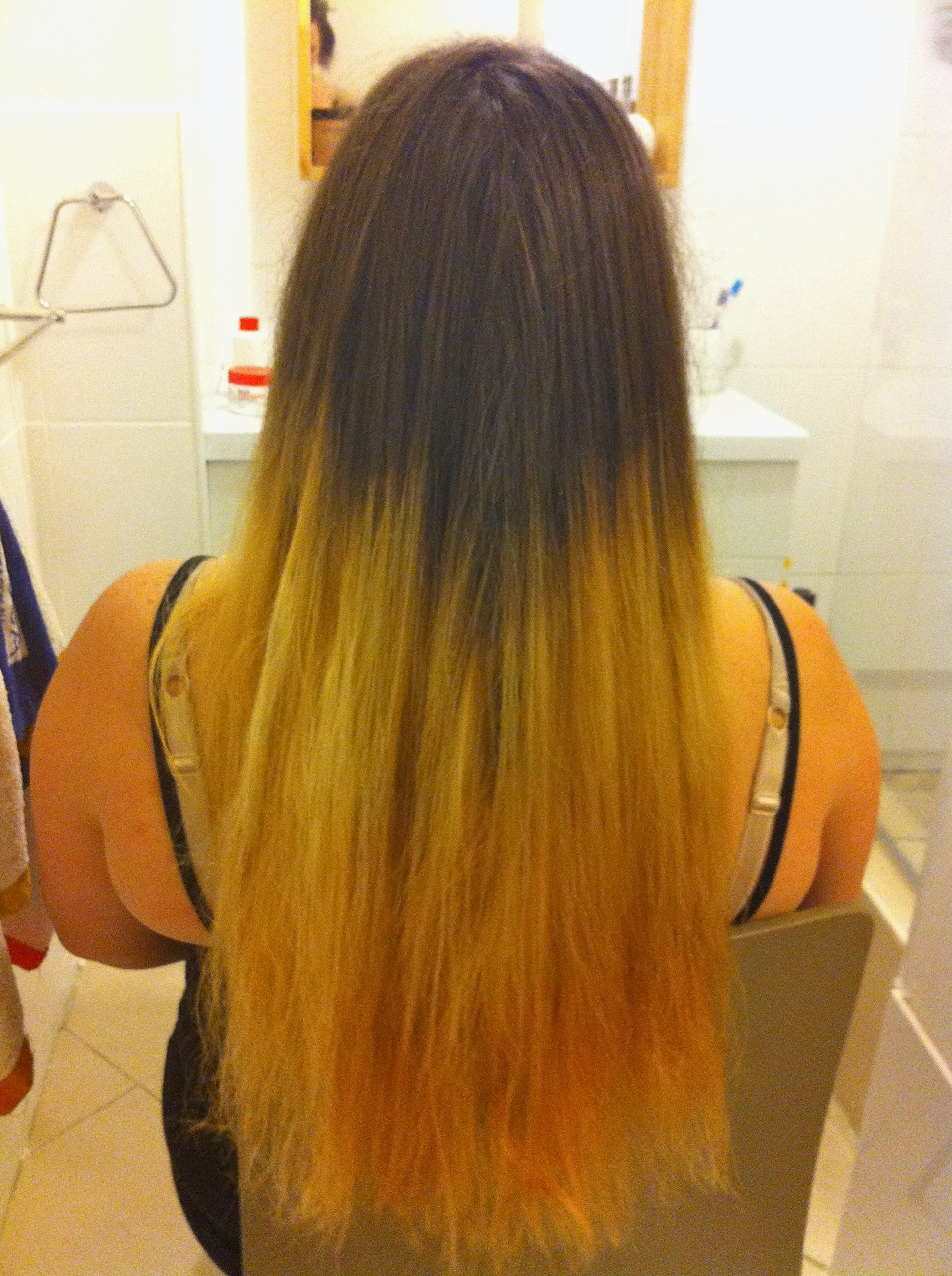 The Best Bleaching Colored Hair At Home Lajoshrich Com Pictures