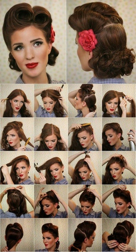 The Best 1940S Hairstyles For Long Hair Tutorial Foto Video Pictures