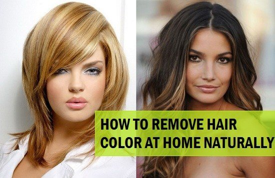 The Best 5 Ways To Remove Hair Color From Hair Naturally At Home Pictures