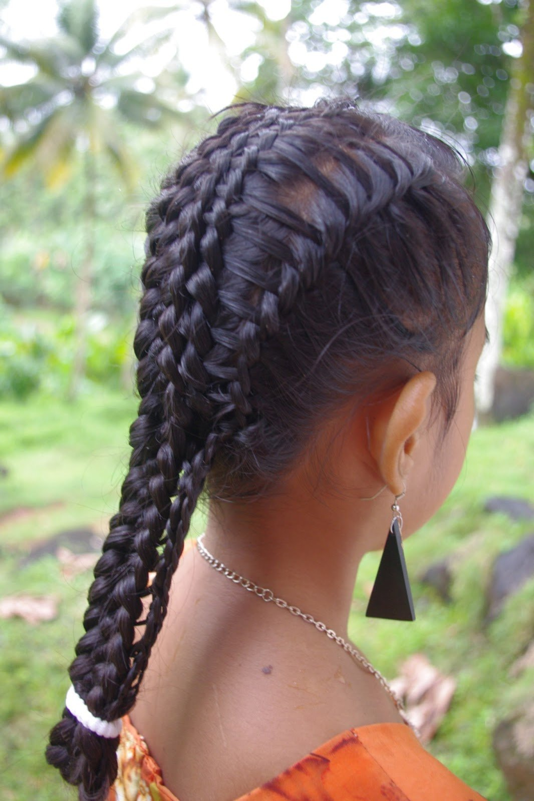 The Best Braids Hairstyles For Super Long Hair Micronesian Girl Pictures
