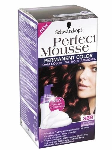 The Best Schwarzkopf Perfect Mousse Permanent Hair Dye Foam Color Pictures