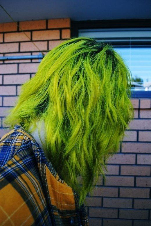 The Best Diy Hair 10 Green Hair Color Ideas Bellatory Pictures
