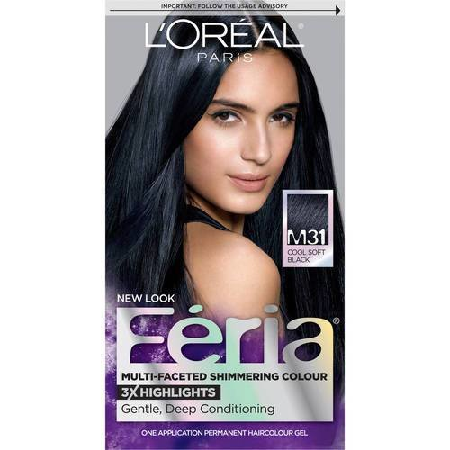 The Best Loreal Blue Black Hair Dye Hairstyle For Women Man Pictures