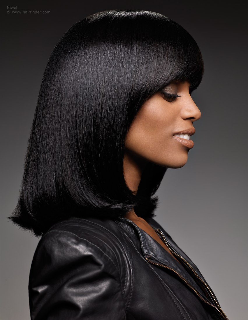 The Best Hairstyles For Long Thick Black Hair Hairstyle For Women Pictures