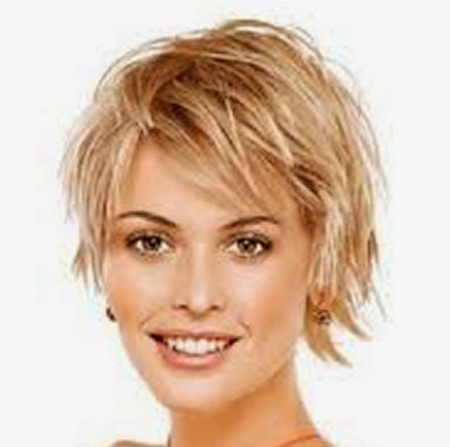 The Best Short Hairstyles For Fine Hair Over 50 Round Face Pictures