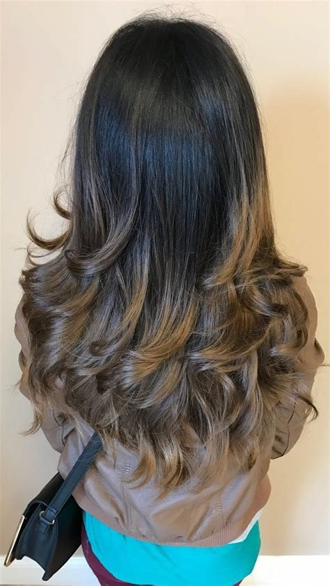 The Best Step Cutting Hairstyle For Thin Hair Long Curly Hair Pictures