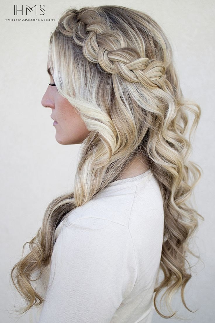 The Best Hairstyles Braided Hairstyles For Wedding Guests Pictures