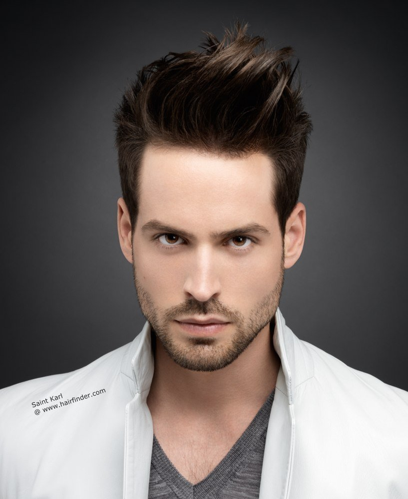 The Best 41 Gel Hairstyles For Men Hairstylo Pictures
