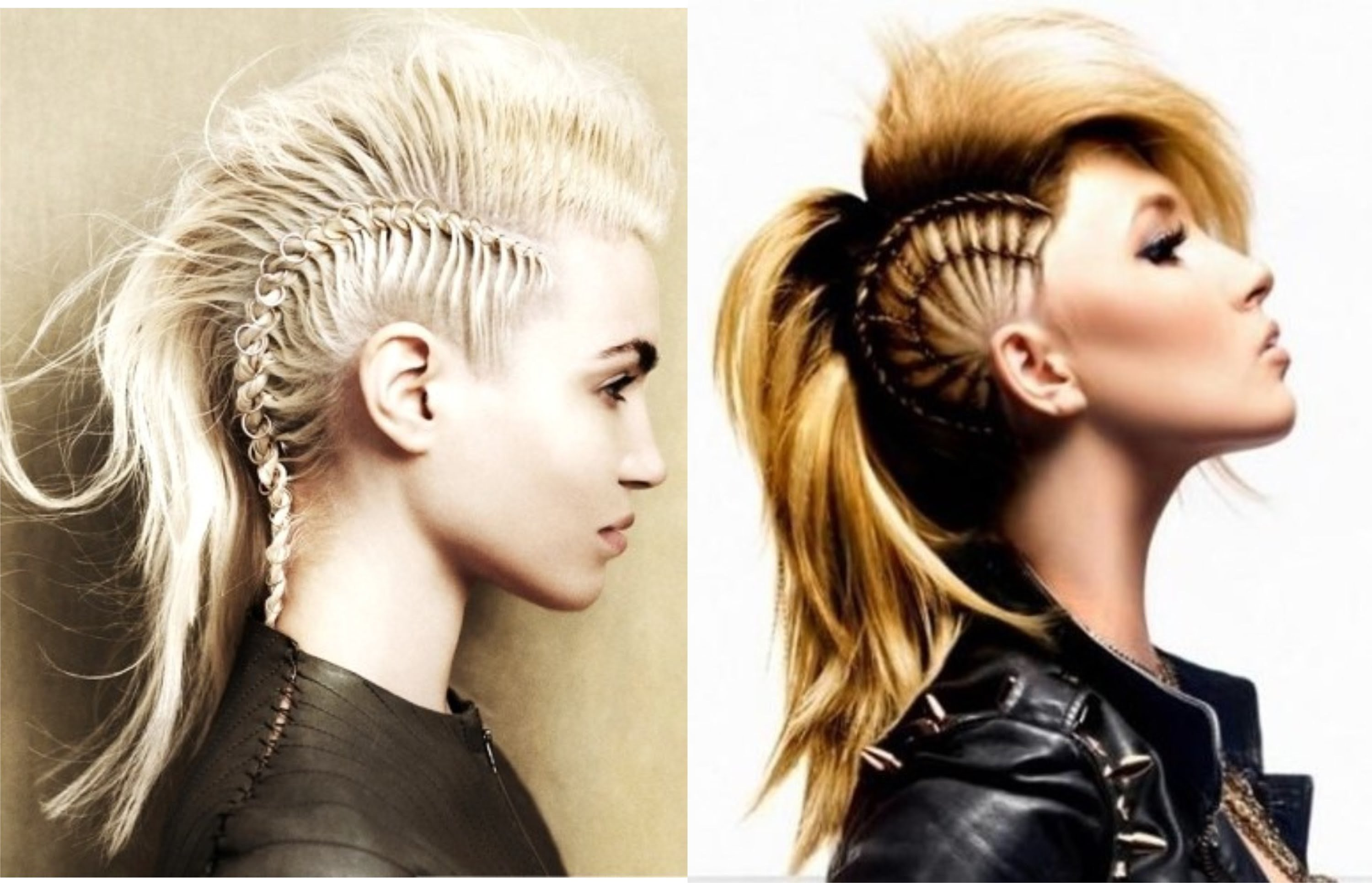 The Best Long Mohawk For Women Hairstylo Pictures