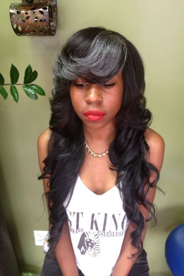 The Best Weave With Bangs For Black Women Hairstylo Pictures