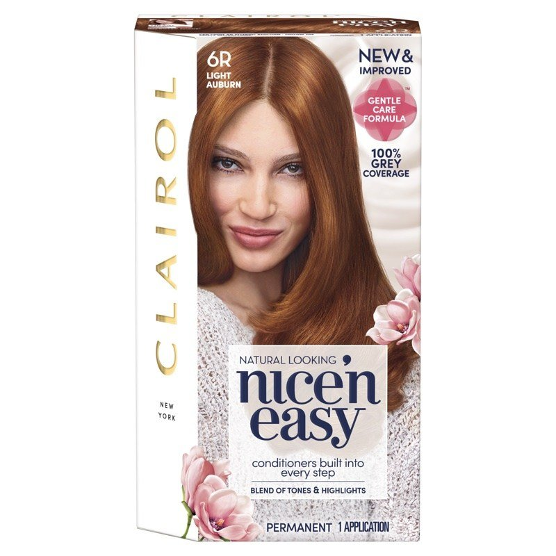 The Best Clairol Gives Iconic Nice' N Easy Easy Dye A Gentle Touch Pictures