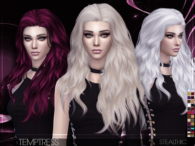 The Best Stealthic Temptress Female Hair Pictures
