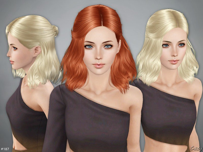 The Best Cazy S Haley Hairstyle Sims 3 Pictures