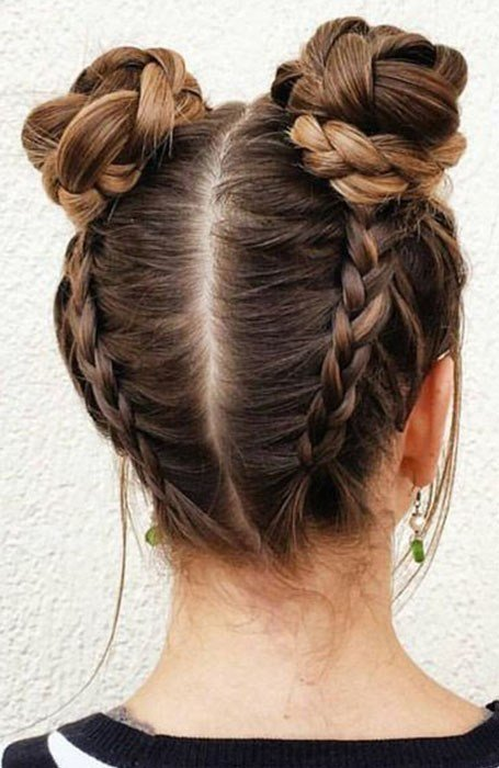 The Best 20 Stylish Bun Hairstyles That You Will Want To Copy The Pictures
