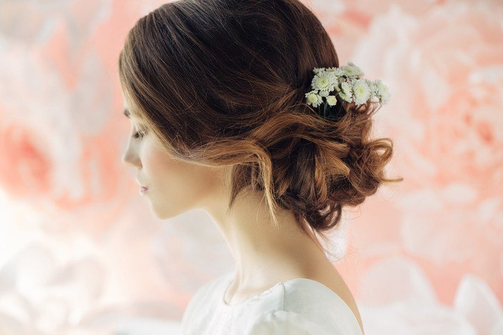 The Best Wedding Hairstyles For Thin Hair Toppik Blog Pictures