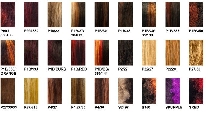 The Best It S A Wig Color Charts Pictures
