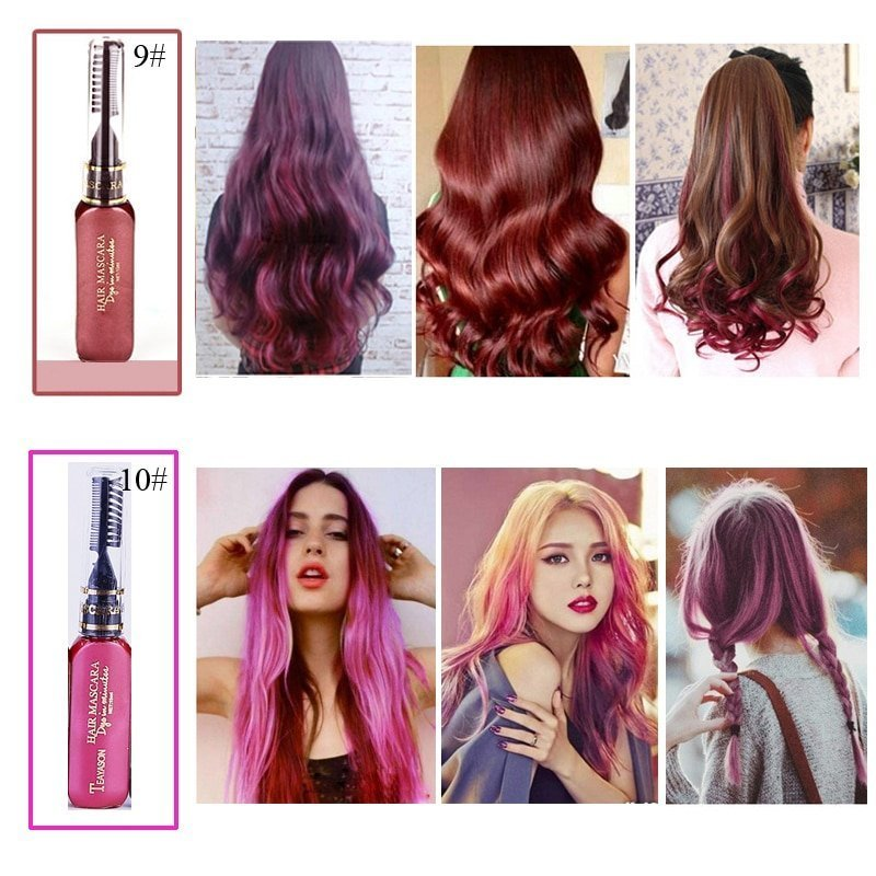 The Best Buy Temporary Non Toxic Hair Mascara Mexten Product Is Pictures