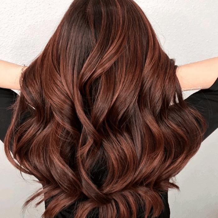 The Best 17 Examples Of Dark Brown Hair With Highlights Pictures