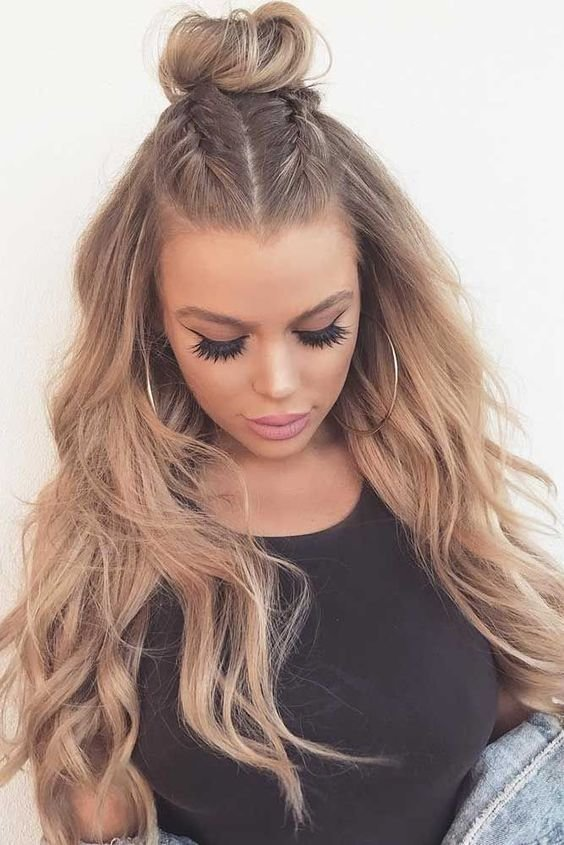 The Best Ladies Long Hairstyles Trends Tutorial Step By Step Looks Pictures