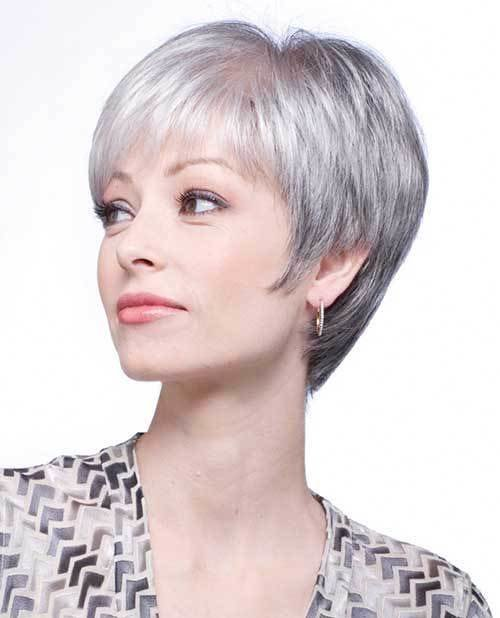 The Best 2017 S Short Grey Granny Hair Trend Short Hair Color Pictures