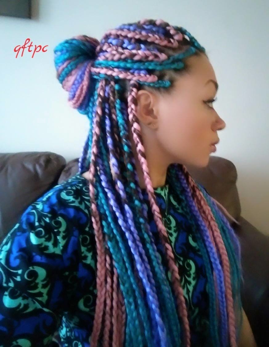 The Best Box Braids Hairstyles Girlterest Pictures