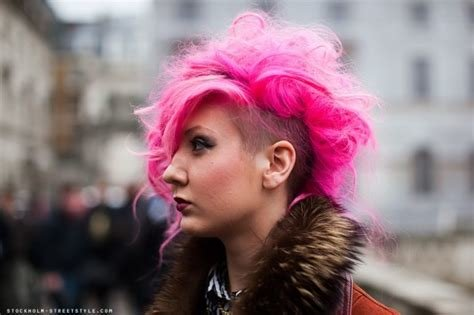 The Best Color Punk And Rock Hairstyles For Women Wardrobelooks Com Pictures