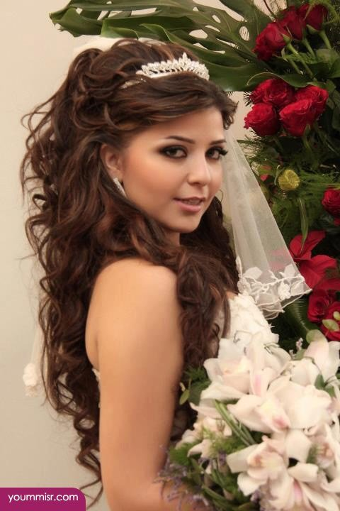 The Best Wedding Day Hairstyles 2015 With Crown 2016 – افضل قناة Pictures