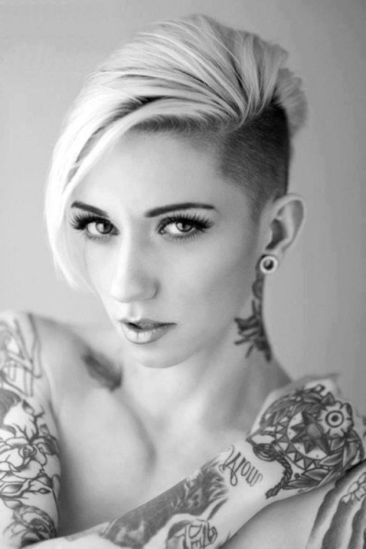The Best Half Shaved Short Hairstyles Fade Haircut Pictures
