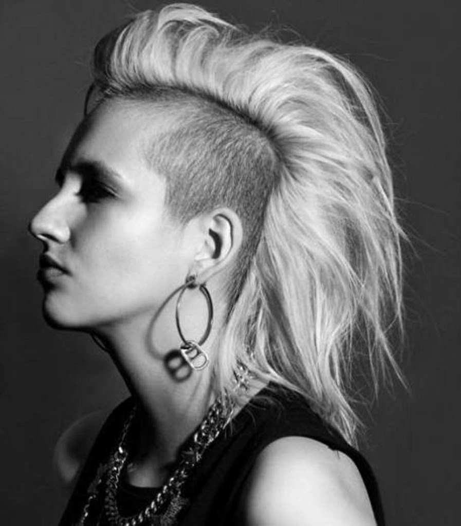 The Best Badass Hairstyles For Women Fade Haircut Pictures