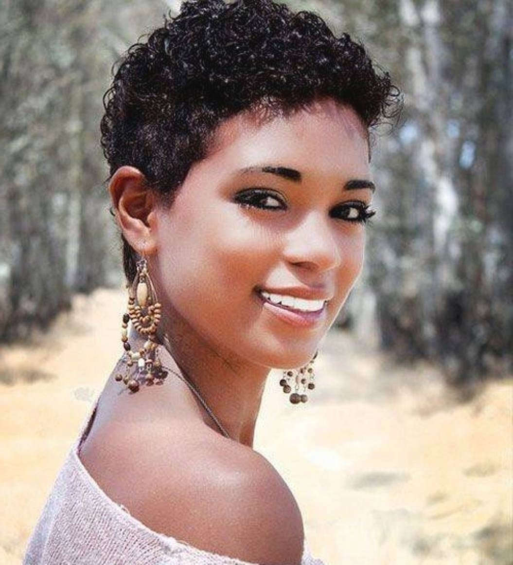 The Best Short Curly Ethnic Hairstyles Fade Haircut Pictures
