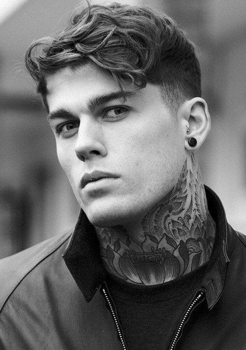 The Best Men S Hairstyle Inspirations From 4 Top Male Models Pictures