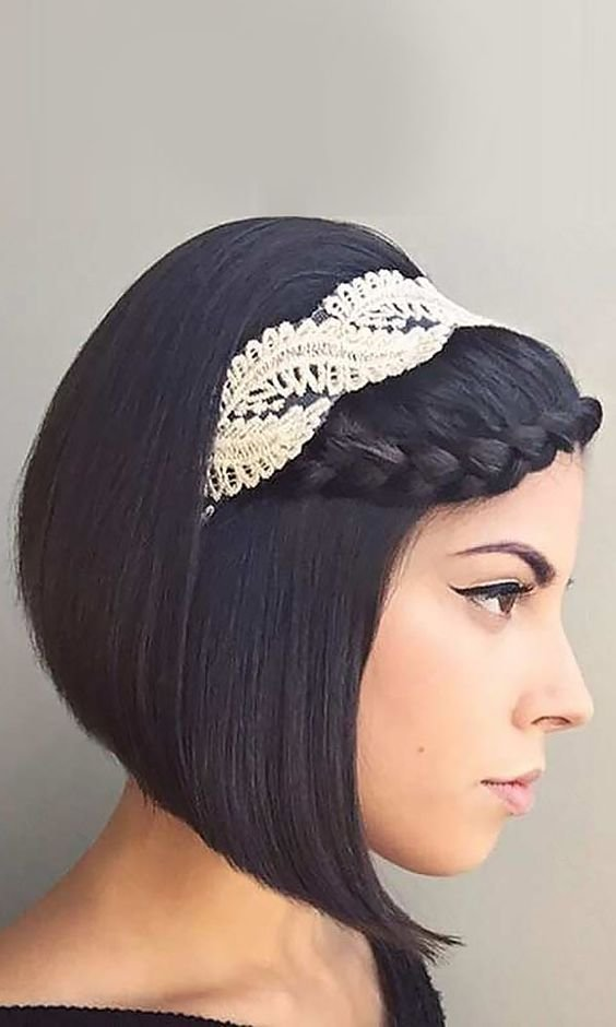 The Best Romantic Wedding Hairstyles For Short Hair Pictures