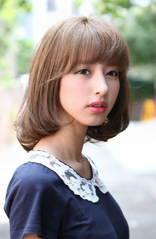 The Best Flirty Fringed Bob – Feminine Curvy Hairstyles Weekly Pictures