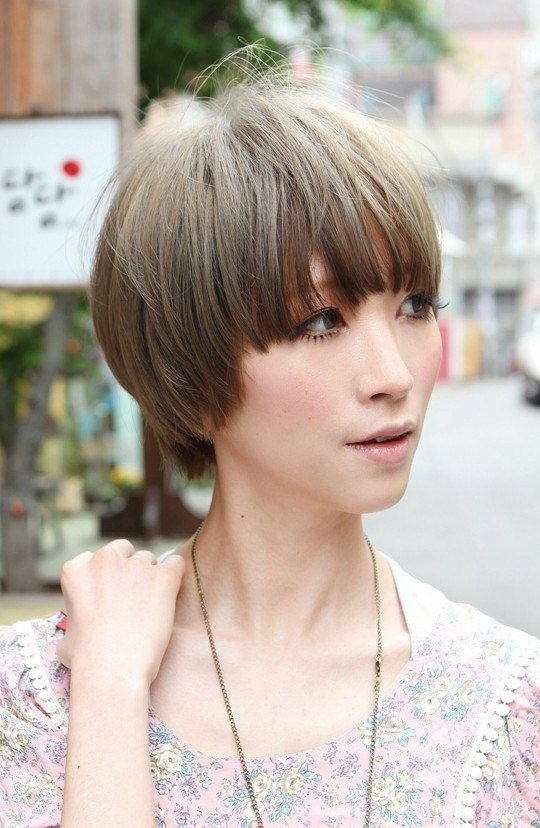 The Best Beautiful Bowl Cut With Retro Fringe Short Japanese Pictures