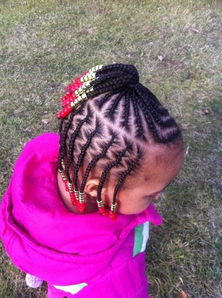 The Best 21 Attractive Little Girl Hairstyles With Beads – Hairstylecamp Pictures