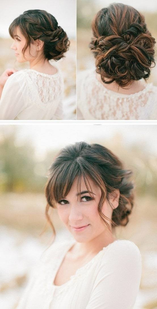 The Best 45 Magical Updos Dedicated To Medium Length Hair Pictures