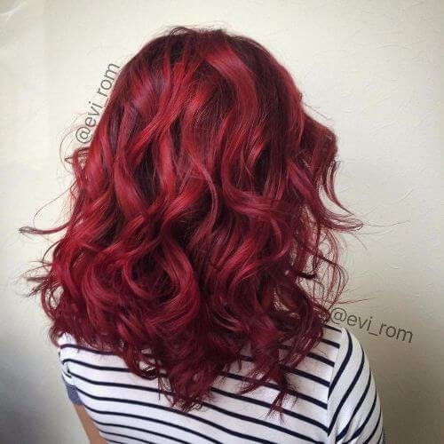 The Best 50 V*V*D Burgundy Hair Color Ideas For This Fall Hair Pictures
