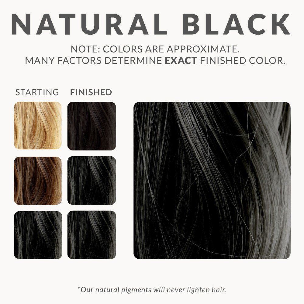 The Best Natural Black Henna Hair Dye – Henna Color Lab® – Henna Pictures