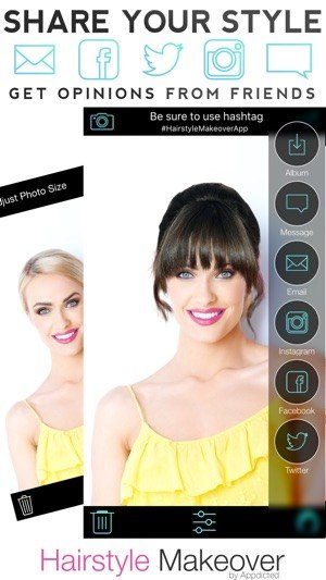 The Best Hairstyle Makeover On The App Store Pictures