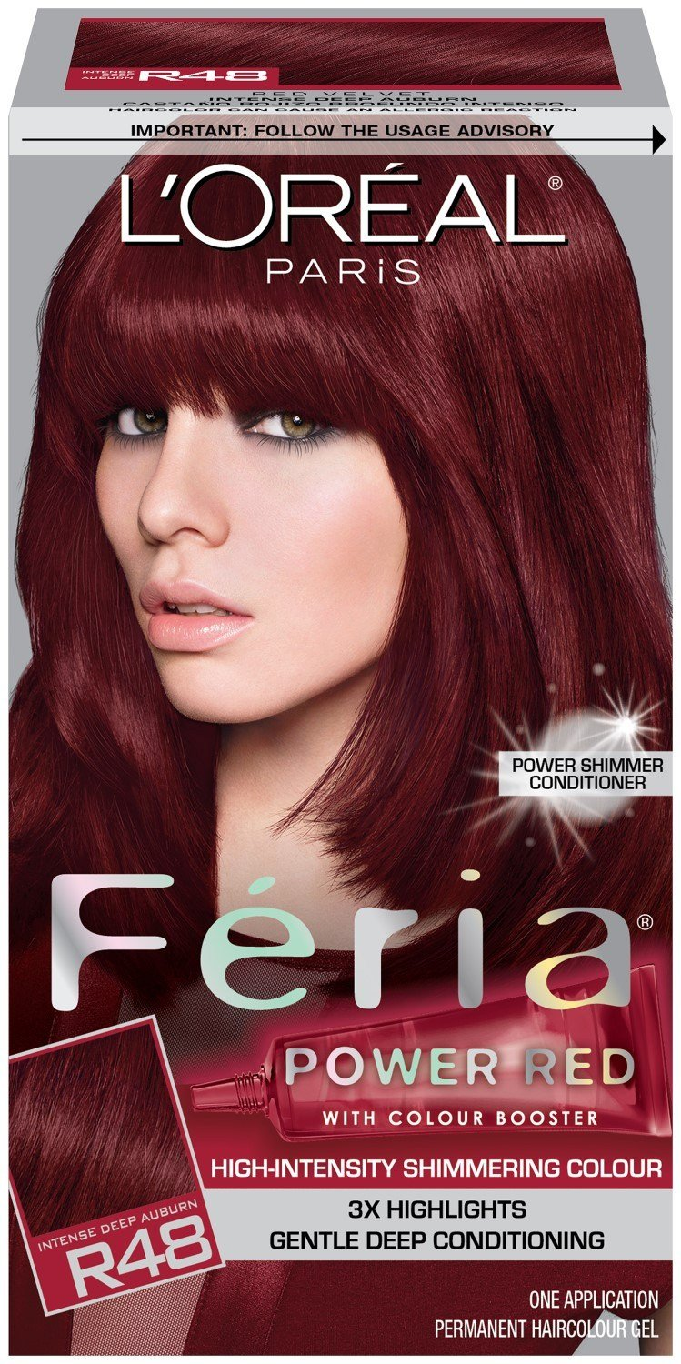 The Best L Oreal Paris Feria Multi Faceted Shimmering Color R48 Pictures