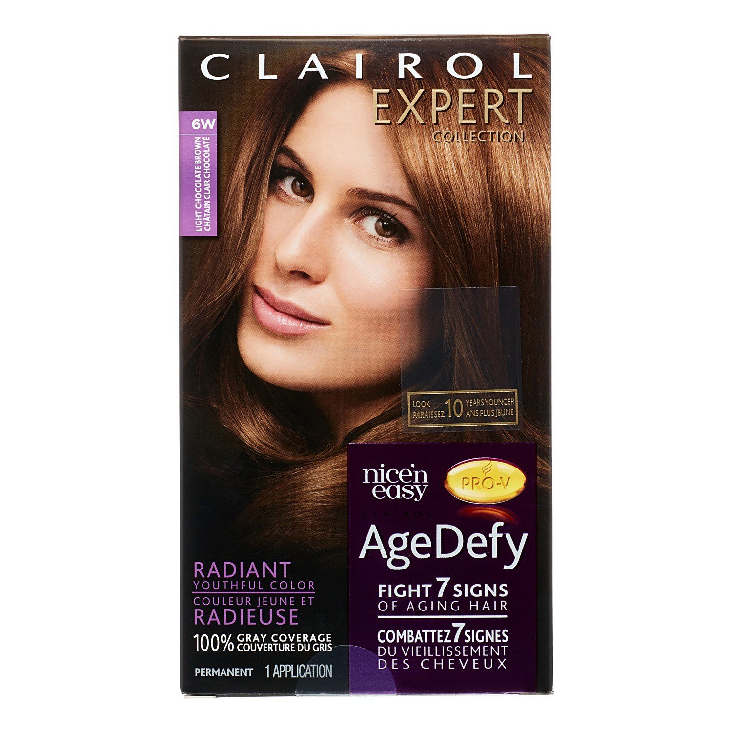 The Best Clairol Expert Collection Age Defy Permanent Hair Color 6W Pictures