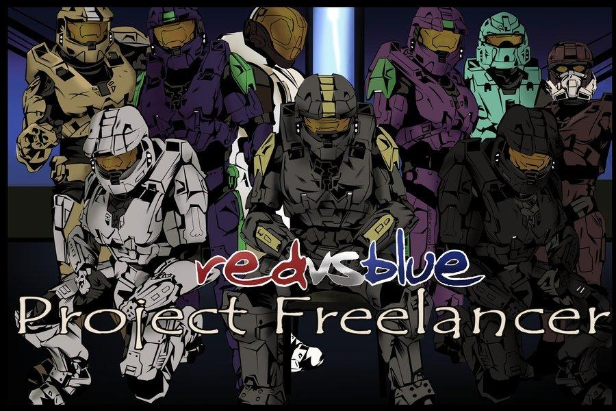 The Best Red Vs Blue Project Freelancer By Saintash On Deviantart Pictures