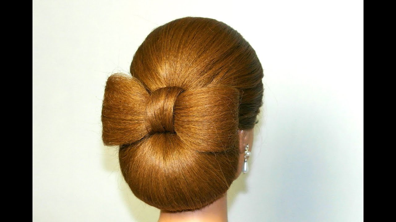 The Best Updo Hairstyle For Long Hair Hair Bow Tutorial Youtube Pictures